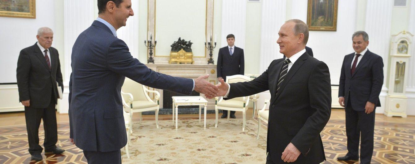Путін визнав помилки Асада