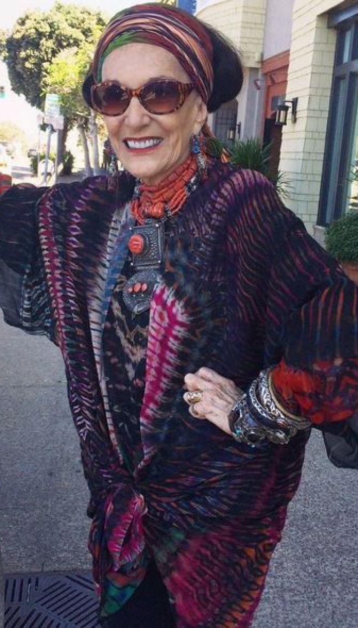Стильные бабушки в Instagram @ Инстаграм Advanced Style