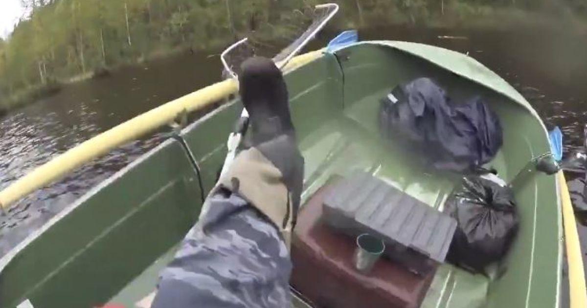 Рыбаки ловили рыбу а поймали подводную лодку