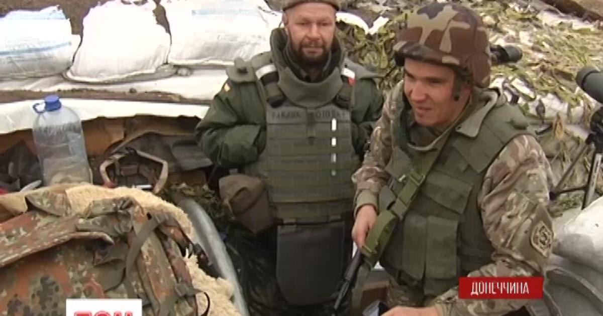 ТСН стала свидетелем обстрела позиций ВСУ возле Донецкого аэропорта
