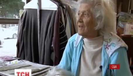 В Нью-Йорке 100-летняя женщина до сих пор работает неполную неделю