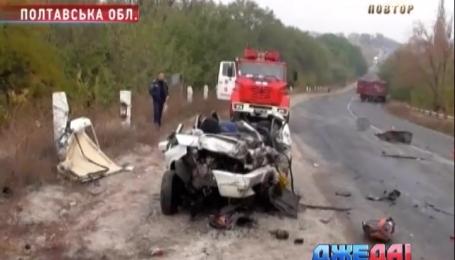 На Полтавщине дорога унесла жизни трех человек