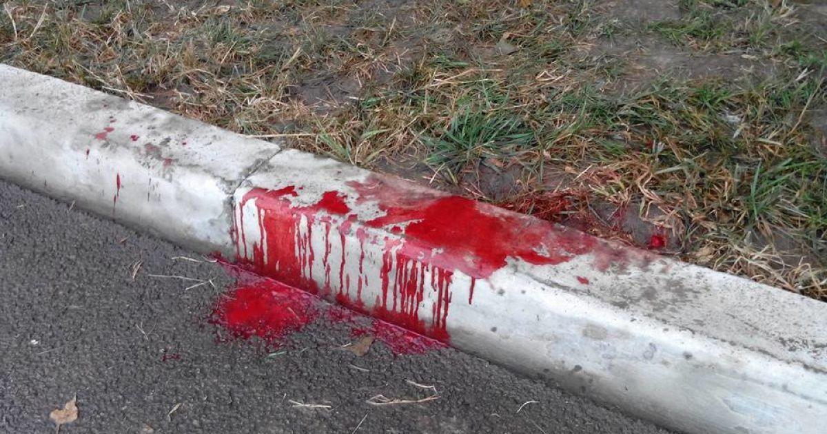 Возле аэропорта «Борисполь» произошло кровавое ДТП @ facebook.com/pavlo.skala
