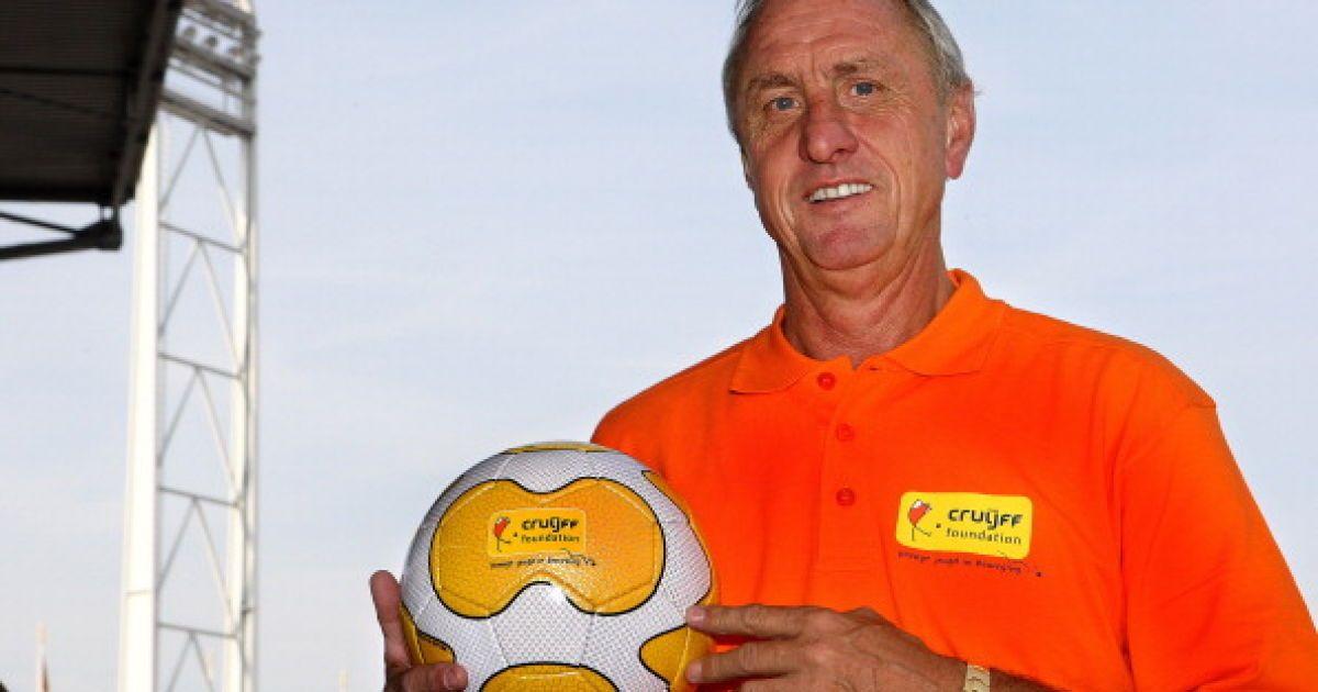 Легендарний футболіст Кройф помер від раку