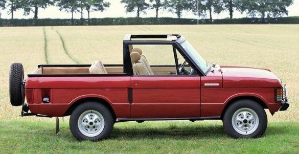 Range Rover кабриолет