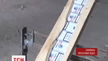 На Буковине таможенники обнаружили контрабандные сигареты почти на 700 тысяч гривен