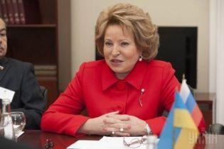 Росіяни дозріли до того, щоби Путіна змінила жінка – Матвієнко