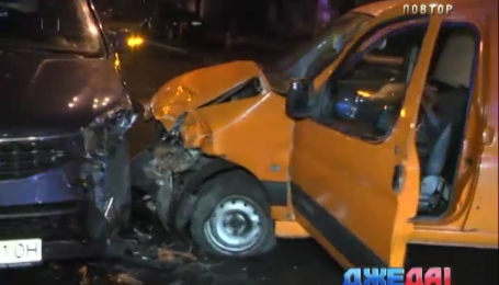 Пьяный водитель наделал беды на столичной дороге