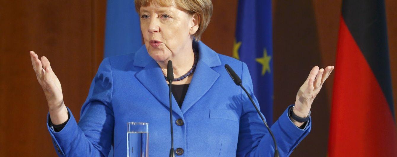 Меркель розповіла про скорочення кількості мігрантів