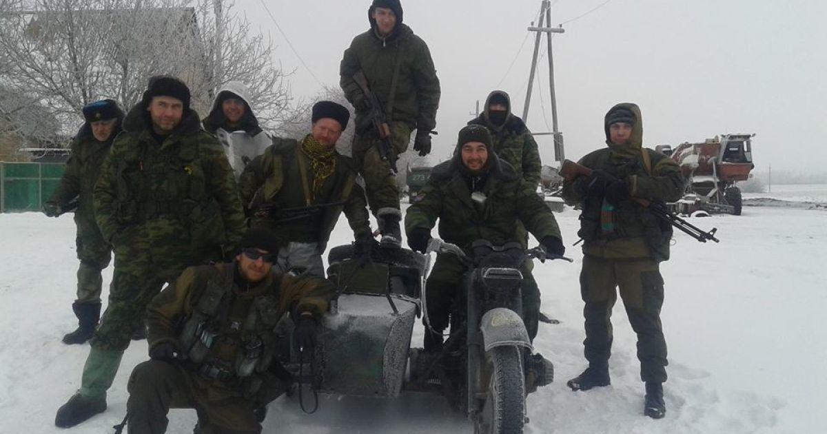 Доровских размещал на своей странице фотографии с оккупированной части Донбасса @ Facebook.com/Бондо Доровских