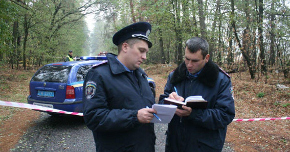 Милиция обнародовала первые подробности и фото сгоревшего авто с погибшими инкассаторами на Черниговщине @ УМВД в Черниговской области