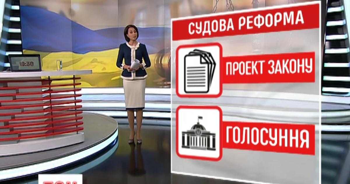 Судебная реформа устранит президента и Верховную Раду от назначения судей
