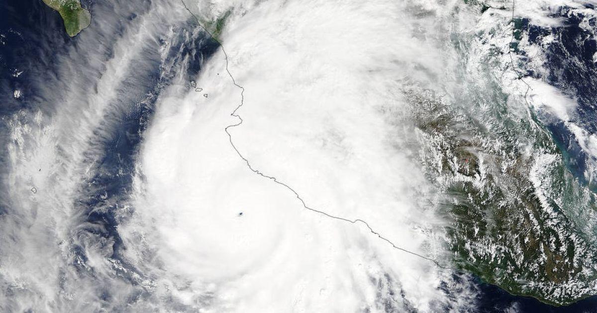 NASA опубликовало видео урагана @ NASA