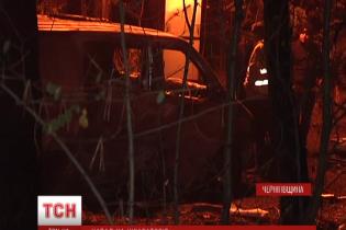 Спалена під Черніговом інкасаторська машина перевозила близько 15 млн гривень