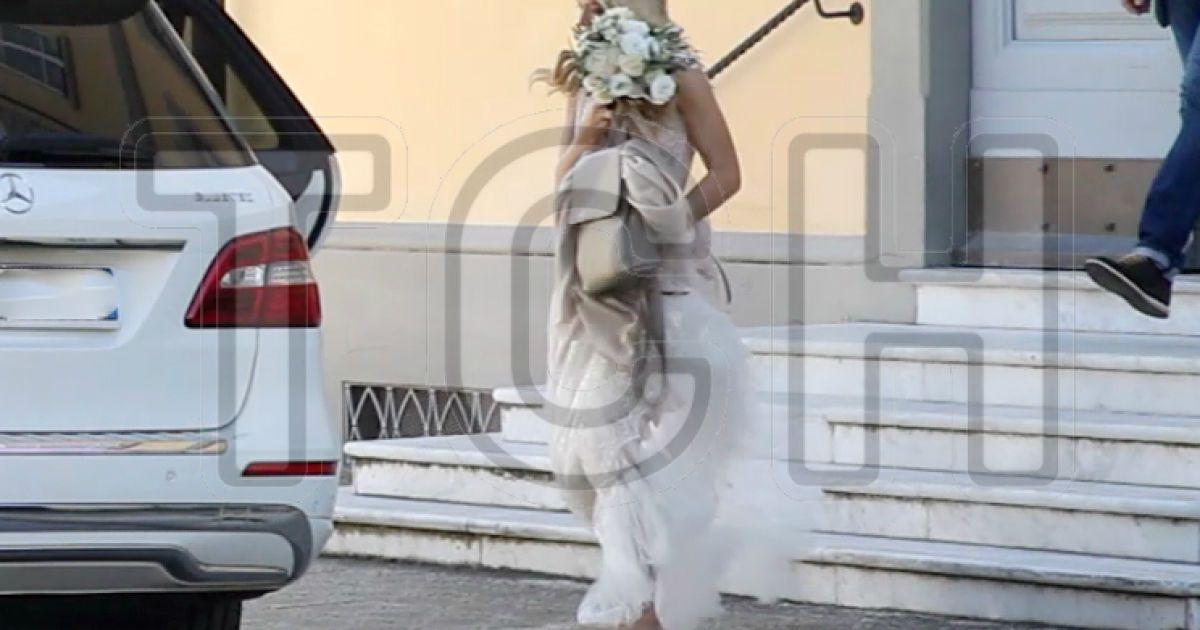 Брежнева и Мелазде сочетались браком в итальянском городе Форте-деи-Марми @ Il Tirreno