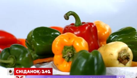 Красный болгарский перец имеет больше витаминов чем желтый