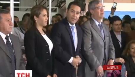 Избиратели из Гватемалы устали от политиков и выбрали себе президентом актера-комика
