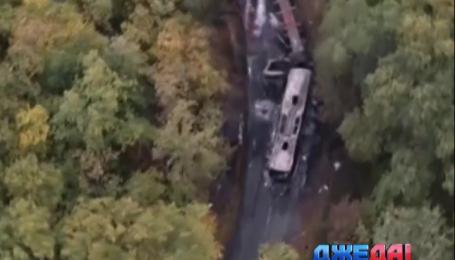 Самая ужасная за последние 33 года авария произошла во Франции