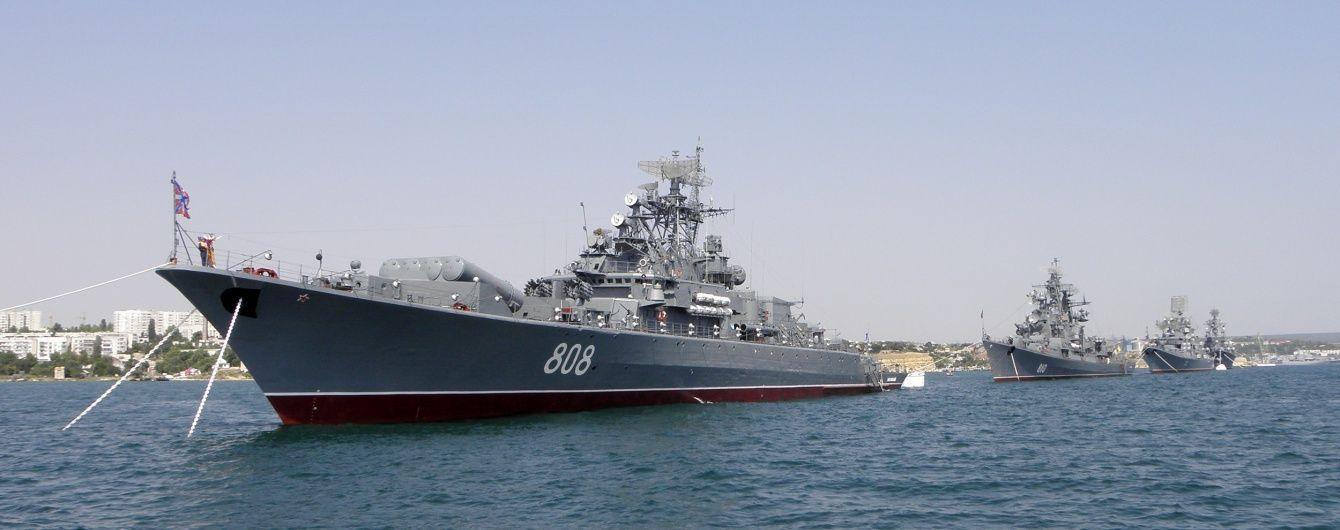 В оккупированном Крыму военные РФ во время учений утопили две ракеты – разведка
