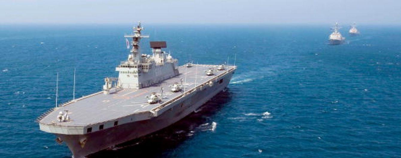 Есмінець США відкрив вогонь у Перській затоці через іранські катери