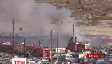 В столице Иордании произошел крупный пожар
