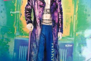 До смерті страшний Джаред Лето в образі Джокера прикрасив обкладинку глянцю