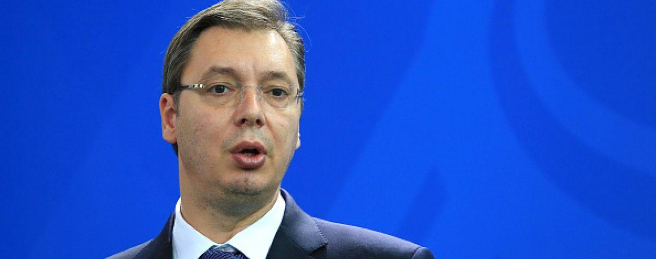 Президент Сербії Вучич порівняв Хорватію з Гітлером