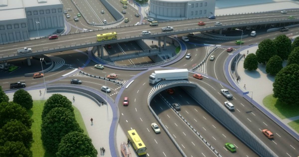 В КГГА показали проект реконструкции Шулявского путепровода @ КГГА