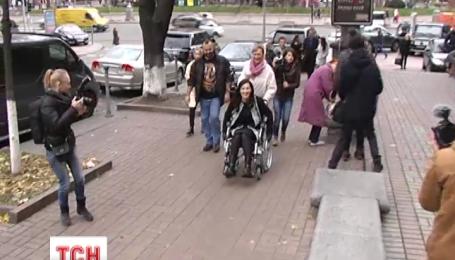 Соломія Вітвіцька села в інвалідний візок заради соціального експерименту