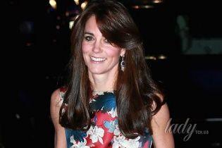Герцогиня Кембриджская выгуляла платье за 4,5 тысячи долларов