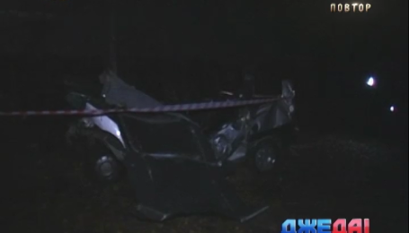 Три человека погибли, еще двое травмированы в аварии в Черкасской области