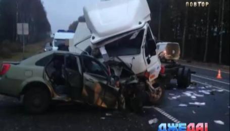 Жуткая авария с участием украинцев произошла в России