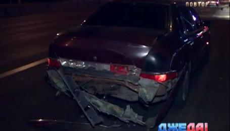 Женщина по неосторожности в столице протаранила Ford