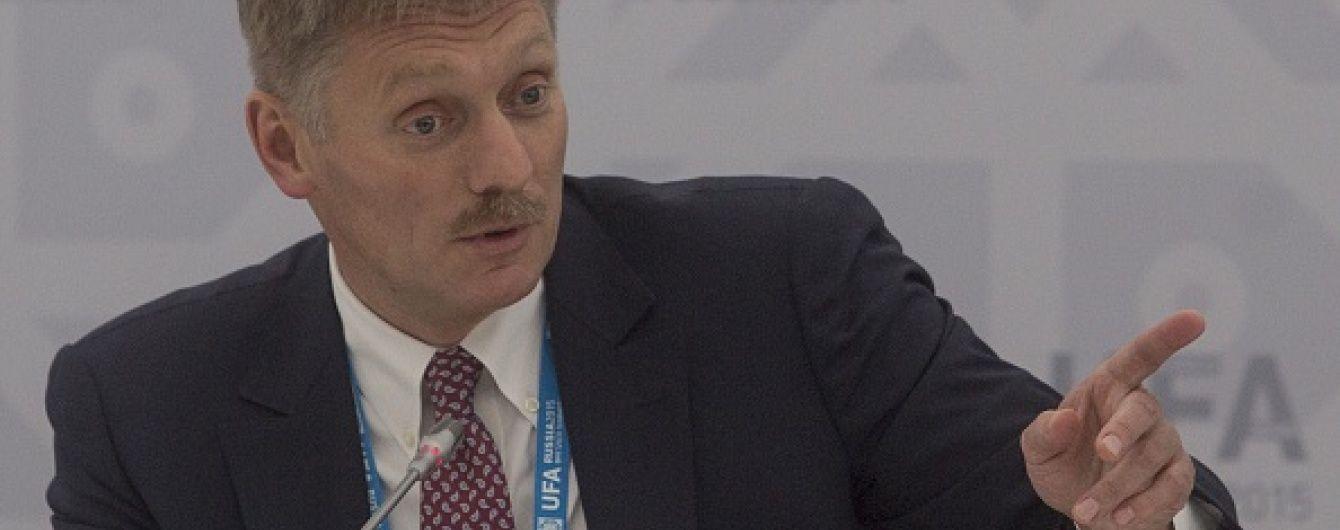 Пєсков не зміг відповісти журналісту ТСН про кількість загиблих росіян на Донбасі