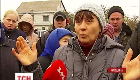 Жители села Саливонки протестуют против фальсификаций на выборах сельского головы