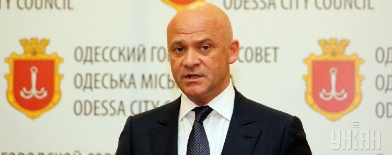Президент дозволив СБУ розібратися із мером Одеси Трухановим - Боровик