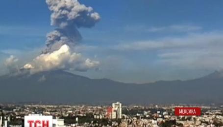 В Мексике проснулся вулкан Попокатепетль
