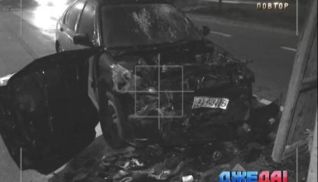 За минувшую ночь в столице произошло два ДТП