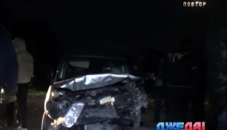 Лобовая авария произошла в Винницкой области