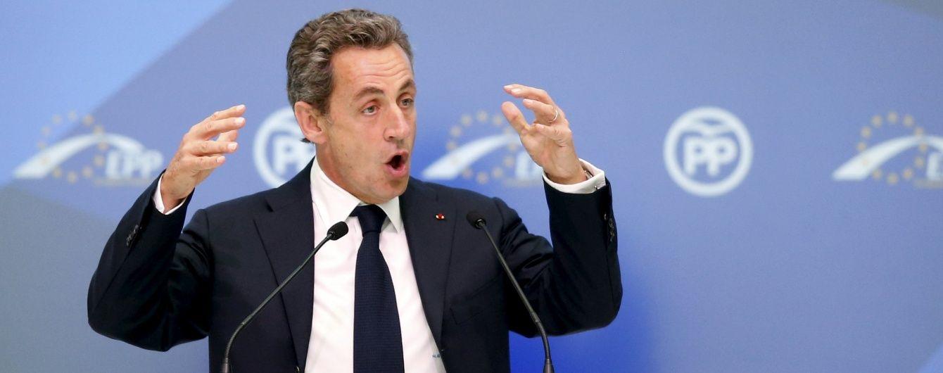 Саркозі знову зібрався у президенти Франції