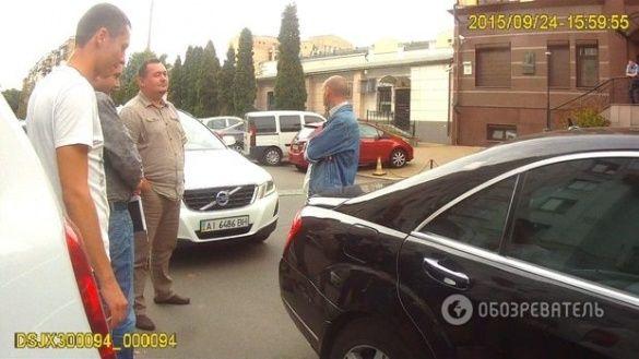 Викрадений Мерседес Януковича, на якому їздить Тимошенко_1