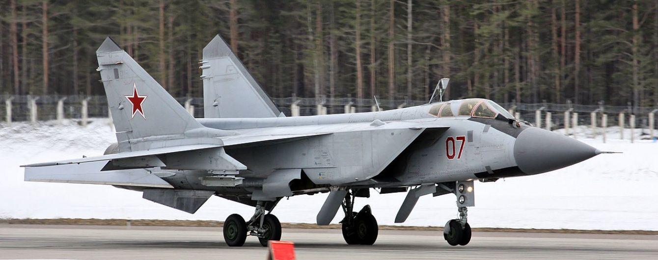 Російський винищувач Міг-31 здійснив аварійну посадку в Красноярському краї