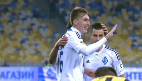 Динамо - Металіст - 1:0 . Відео голу Сидорчука
