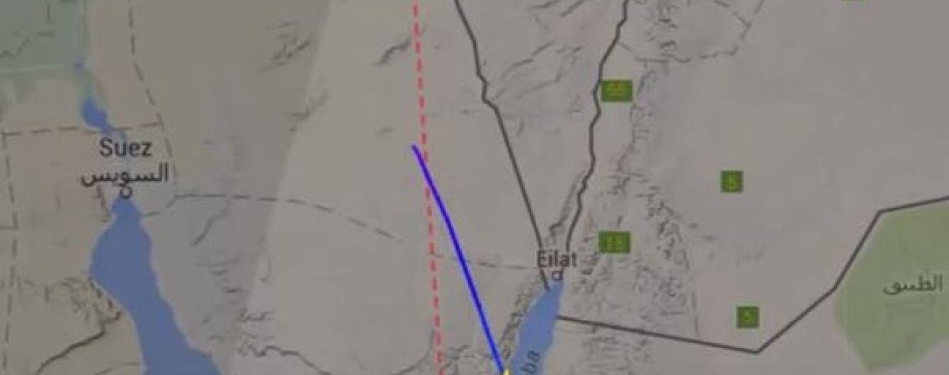 Роковой маршрут. В Сети показали схему полета российского самолета