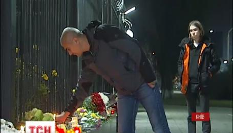Украинцы выражают свои соболезнования россиянам в связи с катастрофой лайнера