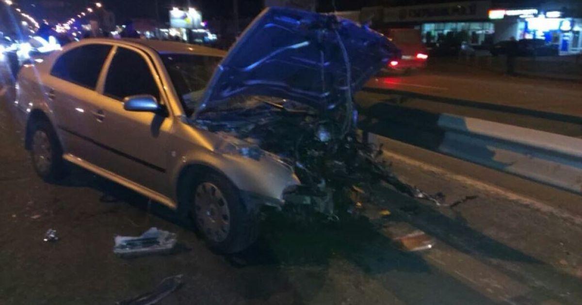 Ранения получили пять человек @ twitter/auto_kiev