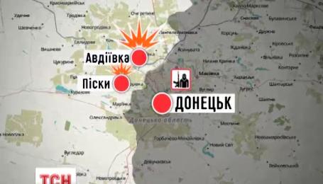 Ночью боевики трижды открывали огонь по позициям украинских военных