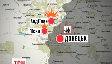 Бойовики обстріляли місто Красногорівка зі 120-міліметрового міномета