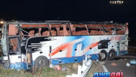Пять украинцев попали в аварию в Австрии