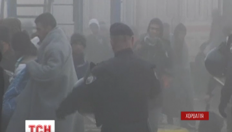 Первый зимний лагерь для беженцев открыли на востоке Хорватии